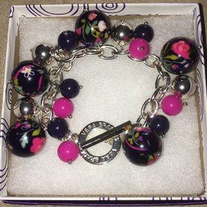 Vera Bradley dangle bracelet